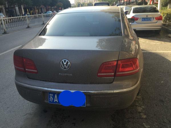 泰州大众辉腾(进口)2012年上牌二手车报价_多少钱,年