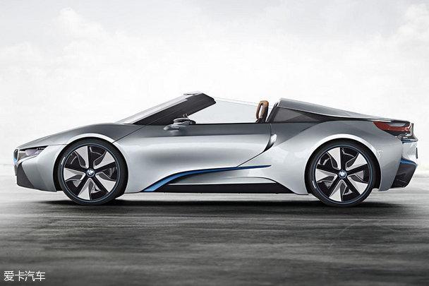 宝马i8 Concept Spyder