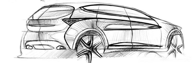 奇瑞瑞虎7设计图发布(2/4)