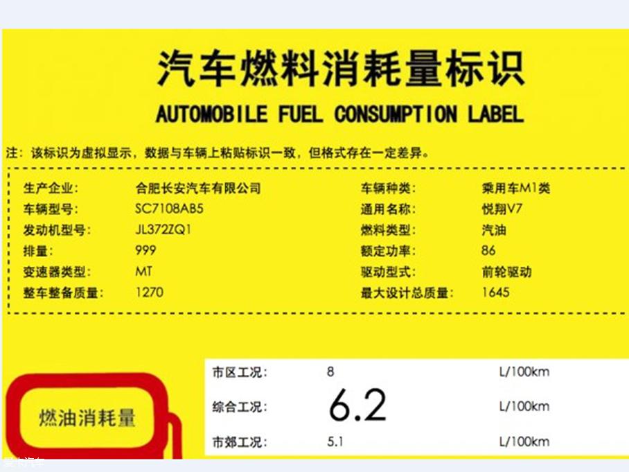 悦翔V7 1.0T匹配手动变速箱 或年内上市