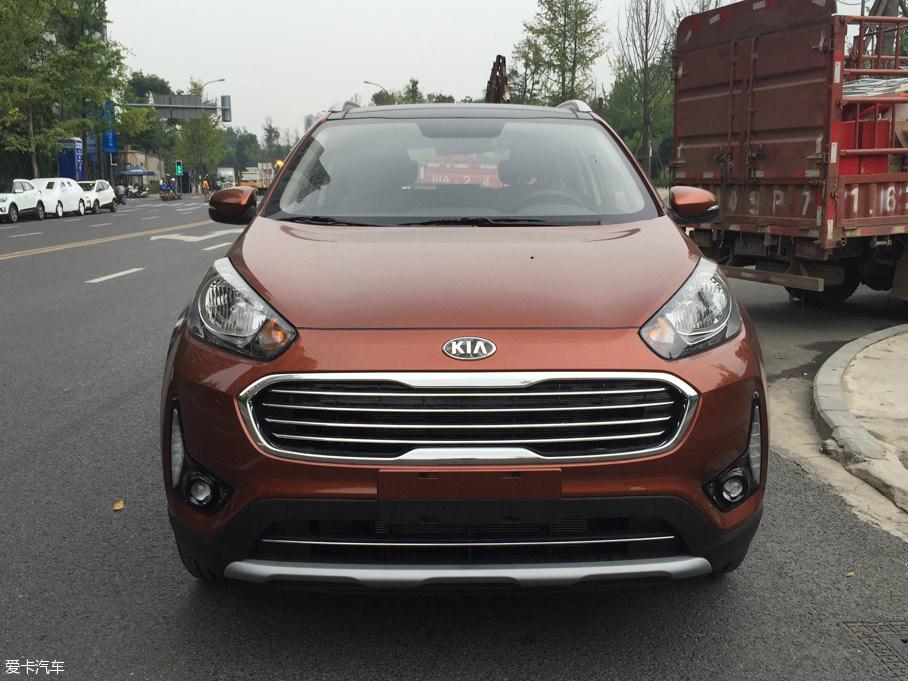 2016成都车展探馆:起亚新款KX3抢先看