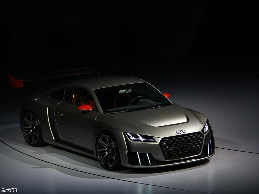 奥迪TT clubsport turbo概念车国内首发