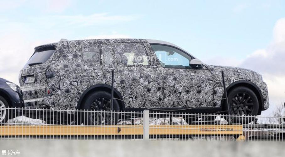 对手直指奔驰GLS 宝马X7车型谍照曝光