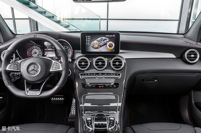 AMG GLC 43 Coupe官图