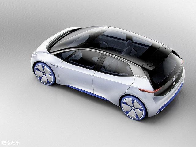 大众全新纯电动概念车I.D.巴黎车展发布