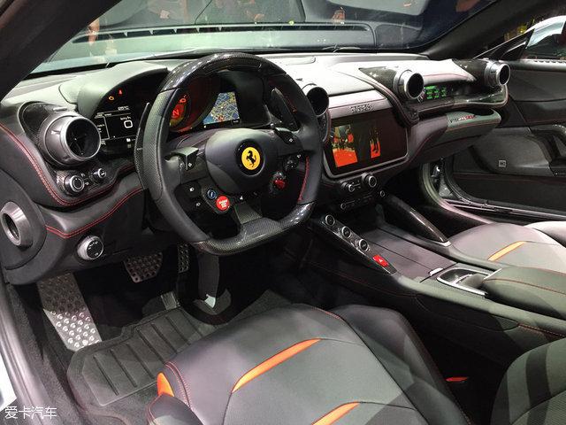 2016巴黎车展:法拉利GTC4Lusso T发布