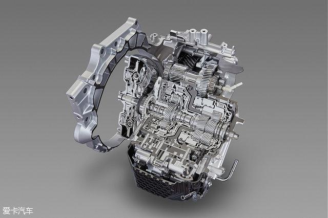 针对发动机横置结构的8挡自动变速箱以及针对发动机